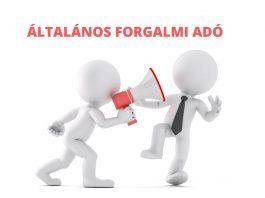 ÁLTALÁNOS FORGALMI ADÓ