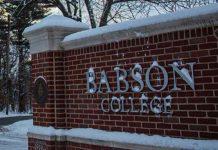 Babson College Winter Farkas Dezső