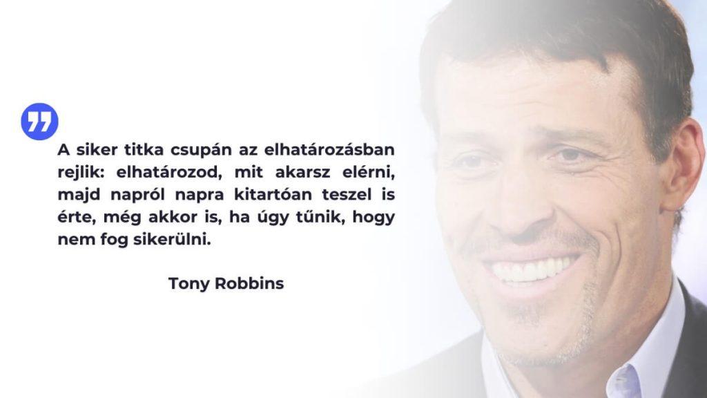 Tony Robbins idézet